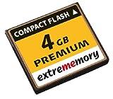 Extrememory CompactFlash 4GB CF Speicherkarte (original Handelsverpackung)