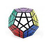 MZStech Magic Cube Puzzle Set of Pyraminx, Meganminx, Skewb, Mastermorphix, 3x3 Mirror Cube - 5 Pack