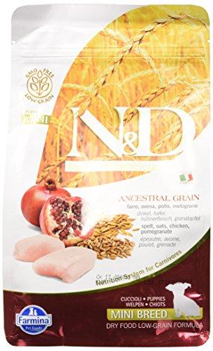 N&d low grain N& d Low Grain Puppy con Pollo e Melograno Secco Cane gr. 800, Multicolore, Unica