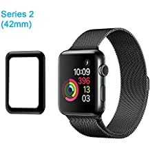 aceyoon Tempered Glass Screen Protector Film For Apple Watch Series 2 42mm 38mm HD Ultra Thin Full Protection Apple Watch Protective Case Cover