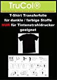 10 Blatt DIN A3 T-Shirt Folie Transferfolie Textilfolie Transferpapier weiß Inkjet Bügelfolie für weiße helle dunkle farbige Stoffe