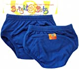 Bright Bots Potty Training Pants (Twin Pack, Blue, Extra Larg, 30 - 36 months)