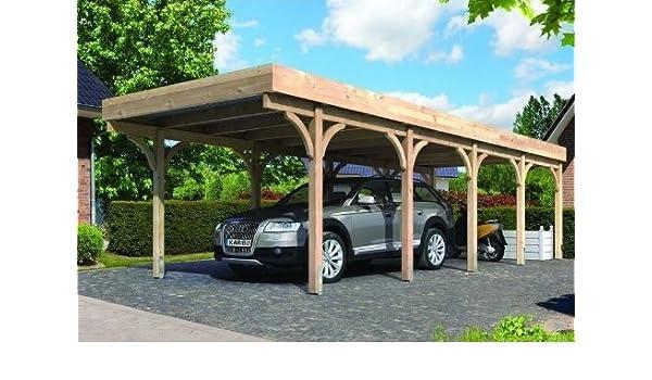 Carport Douglasie carport douglasie carport siebau in weiss satteldach carport