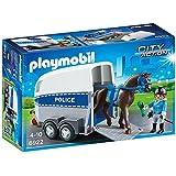 Playmobil Policía - Policía con Caballo (6922)