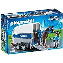Playmobil 6922 - Polizia con Cavallo e Rimorchio