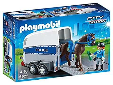 Playmobil 6922 City Action Police with Horse and