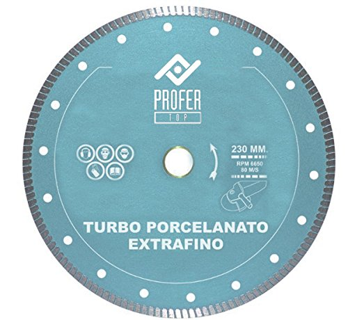 Preisvergleich Produktbild PROFER TOP–Diamanttrennscheibe Feinsteinzeug, 115x 7mm