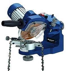 Einhell Sägekettenschärfgerät BG-CS 235 E (235 W, 3000 U/min, Tiefenbegrenzung, Spannvorrichtung, Beleuchtung)