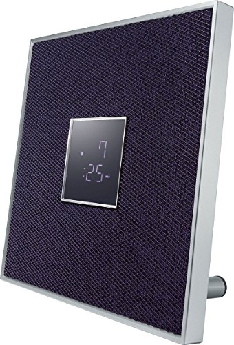 Yamaha ISX-80 30W Purple,Silver loudspeaker - Loudspeakers (1-way, 1.0 channels, Wired & Wireless, 3.5mm/Bluetooth, 30 W, Purple, Silver)
