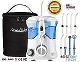 Clean Pulse Pro - Irrigador bucal, Incluye 8 Boquillas y bolsa de Viaje. Recomendado por dentistas y médicos de todo el mundo (Irrigador)