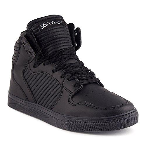 FiveSix Herren Sportschuhe High Top Sneaker Basketballschuhe Freizeitschuhe Schuhe Schwarz EU - 1 Nike Yeezy