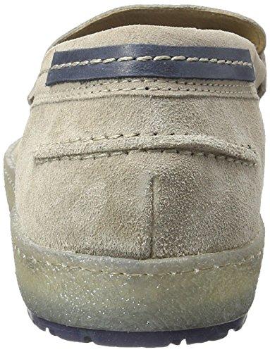 Mjus Herren 309109-0101 Mokassin Grau (Fossile+Space+Blu)