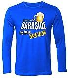 Come to The Darkside - We have Beer 4396 Herren Longsleeve (HL-B) Gr. XXL