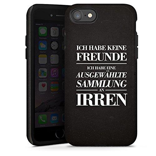 Apple iPhone X Silikon Hülle Case Schutzhülle Freunde Freundschaft Lustig Tough Case glänzend