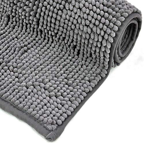 Tapis bain antidérapant gris