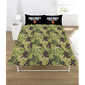 Call of Duty Black Ops Emblem Double Duvet Cover Set
