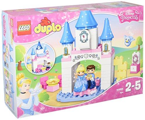 Lego 10855 Duplo Cinderellas Märchenschloss, Disney Spielzeug mit großen Bausteine