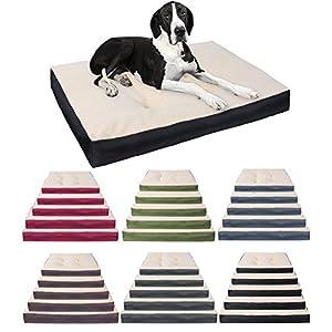 Hundebett Hundematte Hundekissen Hundematratze Schlafplatz Katzen Hunde Matte rutschfest 80*60*10cm HT2063dgr2
