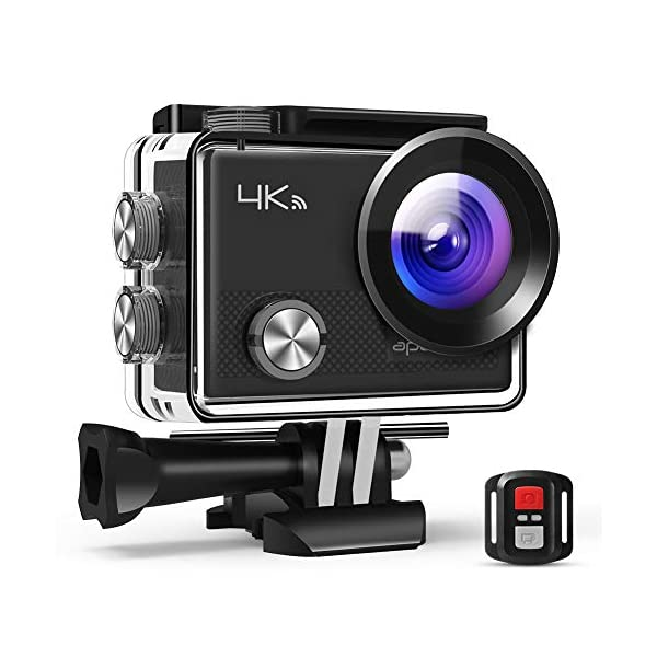 APEMAN Action Camera 4K 20MP WiFi Sports for Vlog Underwater Cam Waterproof 30M with Remote Control 51rZXTcD81L