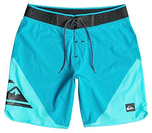 Quiksilver Herren New Wave High 19 Zoll Board Shorts Hawaiian Ocean