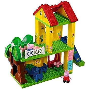 Big Peppa Pig House Building Set