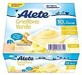 Alete Griessbrei Vanille, 6er Pack (6 x 400 g)