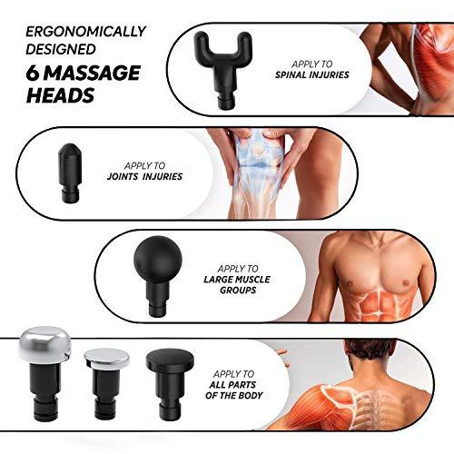 Zoom IMG-2 pistola massaggio percussione massaggiatori elettrici