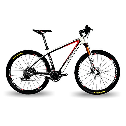 "Beiou® Mountain Bike, 27,5 "", 650B, 10,7 kg T800, in fibra di carbonio ultraleggera 30 Velocità SHIMANO DEORE-M610, MTB 3 CB20 k"