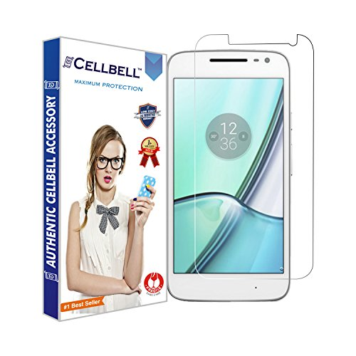 CELLBELL® Tempered Glass Screen Protector For Motorola Moto G4 Play...