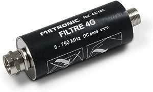 Metronic 432165 4g Filter Mit F Buchse Schwarz Elektronik