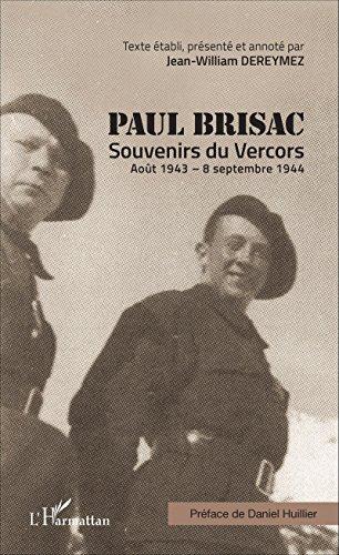Paul Brisac Souvenirs du Vercors