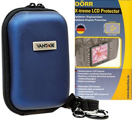 Foto Tasche Kamera Hardcase HC20 Set mit LCD Protector X-treme 76mm