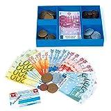 Legler 2020724 - Imitación de billetes y monedas, euros - Legler - amazon.es