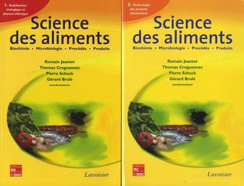 Science des aliments : 2 volumes