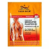 9X Tiger balm Wärmepflaster Patch Plaster Warm Medicated Pain Relief 9pcs Importiert von Allasiangoods