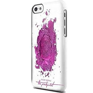 Nicki Minaj the Pinkprint Cover Album 3D Design Coque Arriere Rigide Coquille Housse Case Cover Couverture avec Dessin Coloré pour Apple iPhone 5/5s
