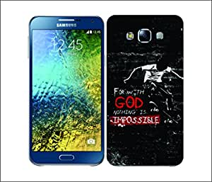 Galaxy Printed 1725 Christian Rider God Hard Cover for Samsung CORE PLUS
