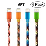 iPhone Charger Cable, Yilan 4 Pack 6Ft A...