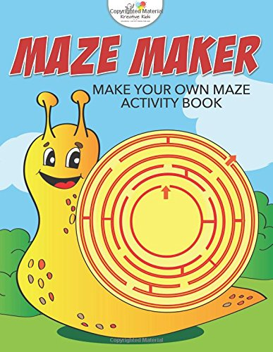 Maze Maker: Make Your Own Maze Activity Book