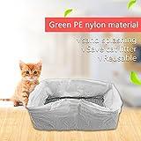 zantec 1Pack/10St. Katzentoilette wiederverwendbar Kätzchen hygienisch Katzenklos Staubbeutel