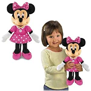 Minnie Maus - Kicher Minnie Mouse Plüsch Figur Sound 31cm