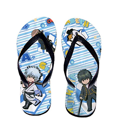 Bromeo Gintama Anime Unisexe Flip Flops Tongs 482
