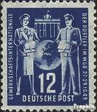 DDR 243 1949 Gründungskonferenz der Postgewerksc (Briefmarken für Sammler)