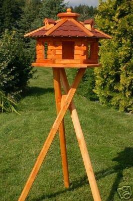 XXL Vogelhaus Vogelhäuschen mit Ständer