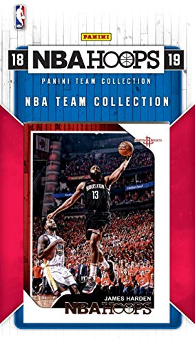 a257f7386784 Houston Rockets 2018 2019 Hoops Basketball Factory Sealed 8 Card NBA  Licensed Team Set with James