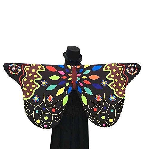 Quaan Kind Frau Weich Stoff Schmetterling Flügel, Fee -