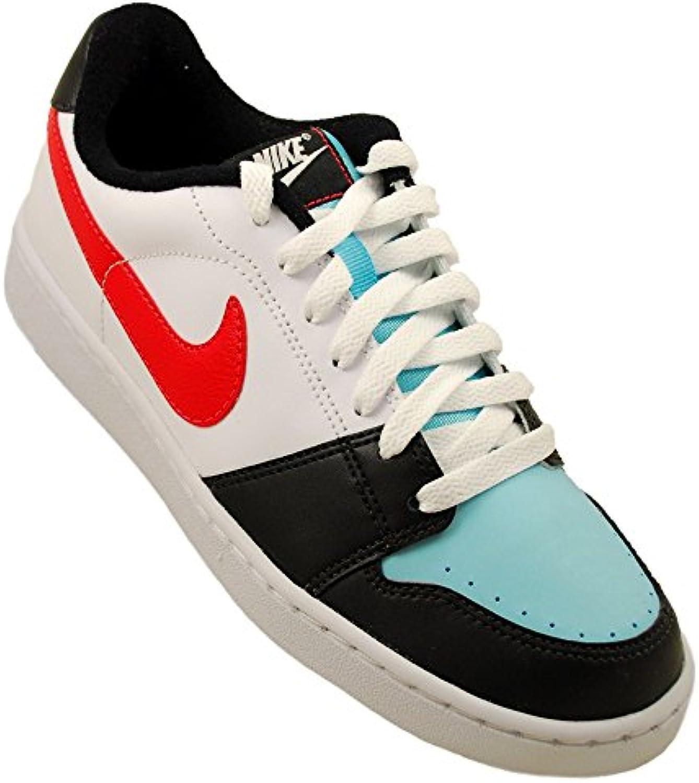 Nike - Wmns Backboard - 386110400 - El Color Blanco-Negro-Celeste - ES-Rozmiar: 37.5