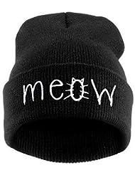 Demarkt Sweet Trend Beanie Wintermütze Baumwolle Strick Mütze Strickmütze Hüte cap hat