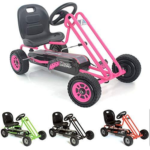Hauck t90104Lightning de Go Kart, Color Rosa