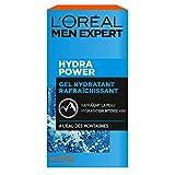 L'Oréal Men Expert - Gel Hydratant & Rafraîchissant pour Homme - Soin du...